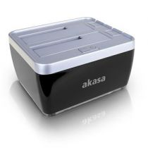 Akasa Duodock 2S Station d\'accueil disques durs USB 3.0 + eSATA