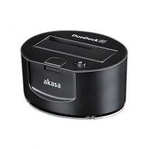Akasa Duodock S USB 3.0 Noir