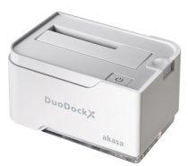 Akasa Duodock X Single Blanc - AK-DK03U3-WH