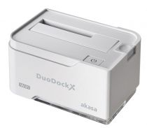 Akasa DuoDock X WiFi Blanc - AK-DK03W3-WH