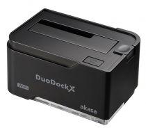 Akasa DuoDock X WiFi Noir - AK-DK03W3-BK