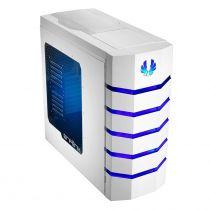 BITFENIX BOITIER PC COLOSSUS BLANC - FENÊTRE (LED BLEU)