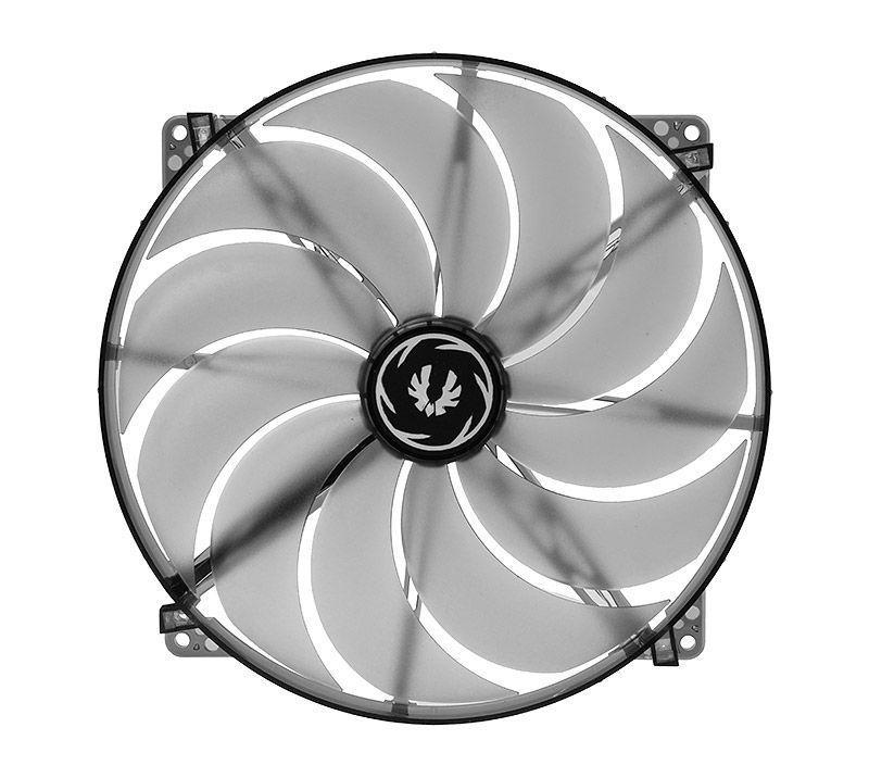 BITFENIX SPECTRE VENTILATEUR LED BLANC 200 mm NOIR