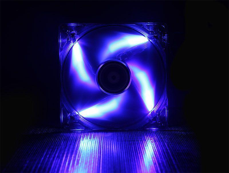 BITFENIX SPECTRE VENTILATEUR LED BLEU 120 mm NOIR