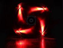 BITFENIX SPECTRE VENTILATEUR LED ROUGE 230 mm NOIR