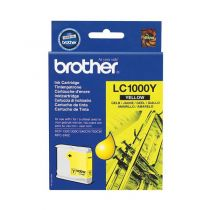 BROTHER - Cartouche LC1000Y Jaune