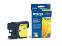 BROTHER - Cartouche LC1100Y Jaune