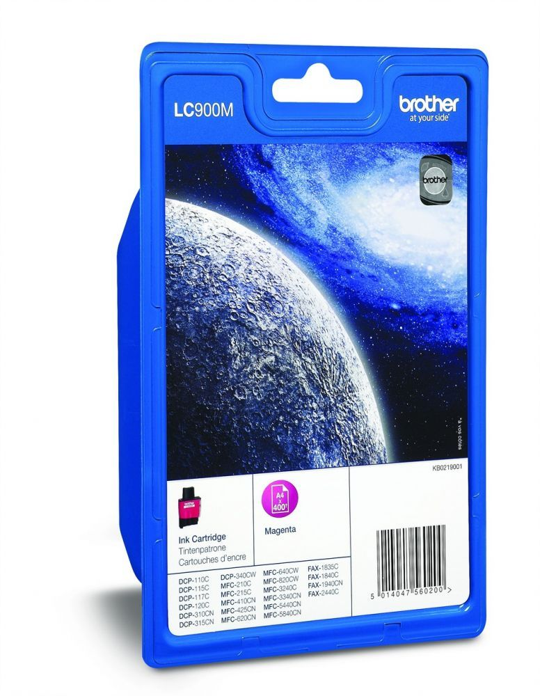BROTHER - Cartouche LC900M Magenta