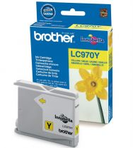 BROTHER - Cartouche LC970Y Jaune