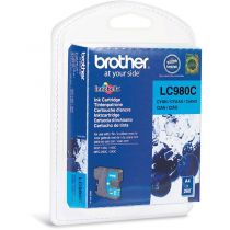 BROTHER - Cartouche LC980C Cyan