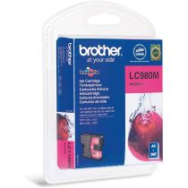 BROTHER - Cartouche LC980M Magenta