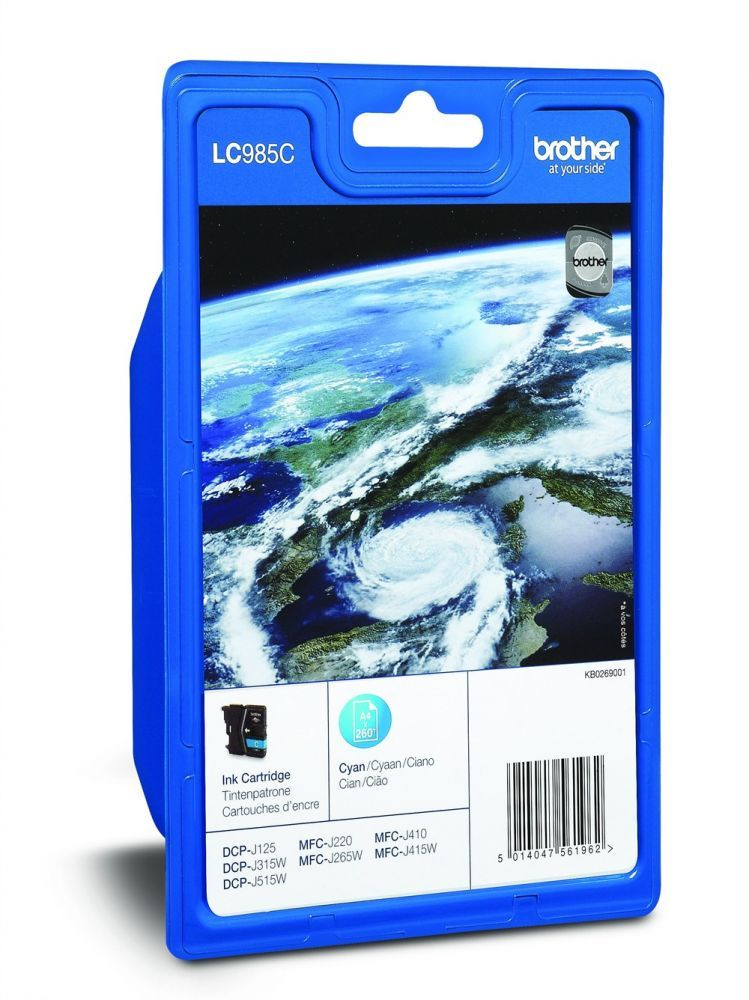 BROTHER - Cartouche LC985C Cyan