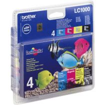 BROTHER - Value Pack LC1000VALBP - 4 Couleur
