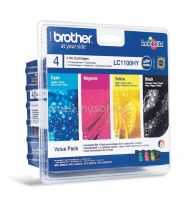 BROTHER - Value Pack LC1100HYVALBP - 4 Cartouches haute capacité