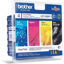 BROTHER - Value Pack LC1100VALBP - 4 Couleur