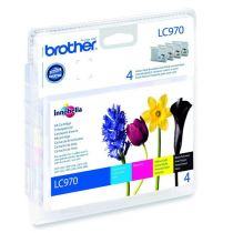 BROTHER - Value Pack LC970VALBP - 4 Couleur