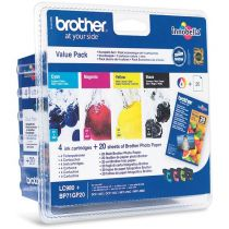 BROTHER - Value Pack LC980VALBP - 4 Couleur