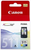 CANON - CL-511 - Cartouche 3 couleurs