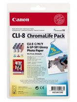 CANON - CLI-8 Chromalife Pack 3 couleurs