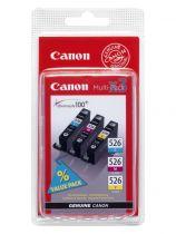 CANON Multipack 3 couleurs - CLI-526 C/M/Y