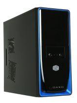 Cooler Master Boitier PC Elite 310 Noir/Bleu