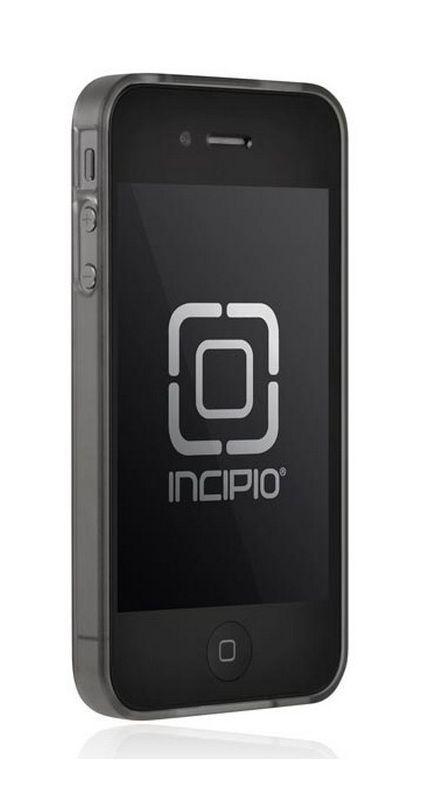 Coque aluminium noir bumper transparent pour iPhone 4/4S