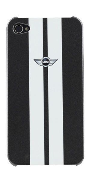 Coque Mini racing noire et blanche iPhone 4/4S