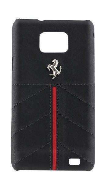 Coque rigide Ferrari California noire Samsung Galaxy S2 I9100