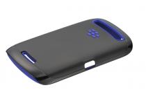Coque rigide Noire / Bleu Blackberry Curve 9380