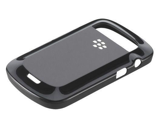 Coque rigide noire Blackberry 9900 Bold