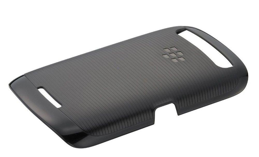 Coque rigide Noire Blackberry Curve 9380