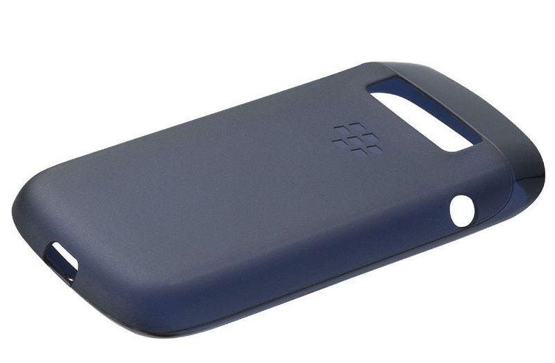 Coque semi-rigide Bleu Blackberry 9790 Bold