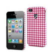 CREMIEUX - coque rigide design Vichy pour iphone 4/4s