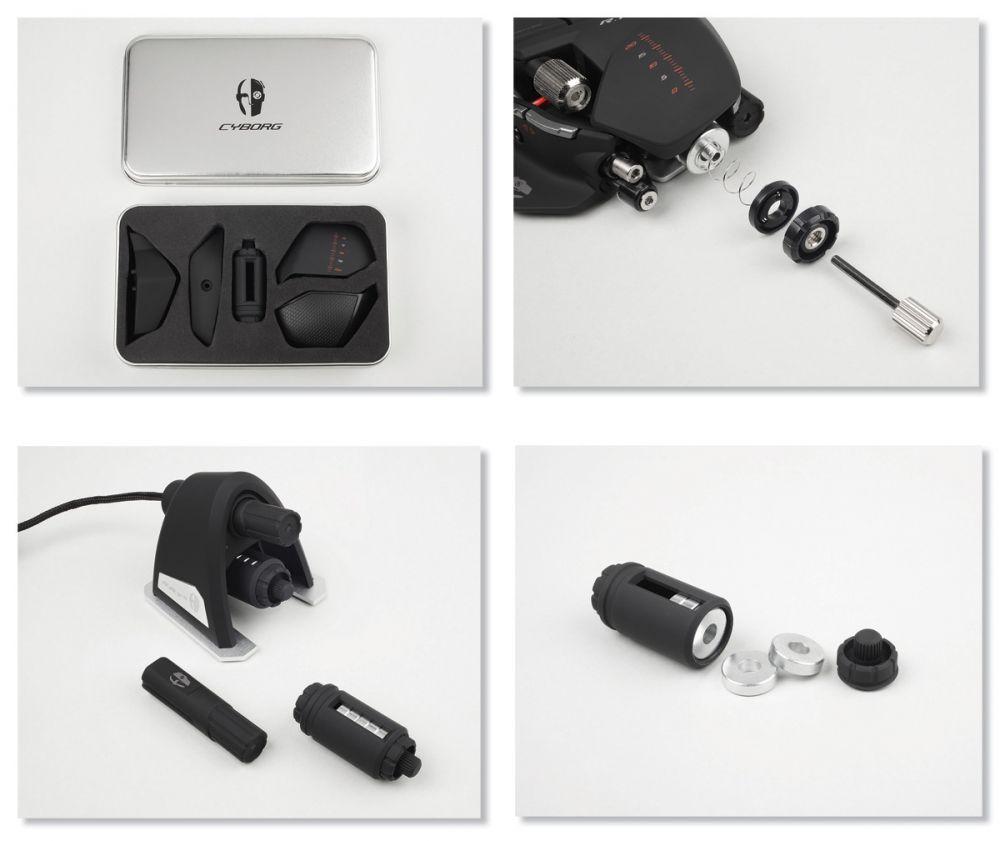 cyborg souris r a t 9 souris gamer achat vente pas. Black Bedroom Furniture Sets. Home Design Ideas