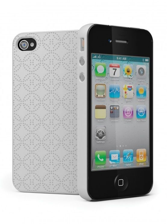 Cygnett Coque Imperial Blanche iPhone 4/4S