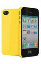 Cygnett Coque rigide AeroGrip Jaune iPhone 4/4S