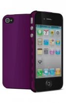 Cygnett Coque rigide AeroGrip Mauve iPhone 4/4S
