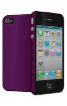 Cygnett Coque rigide AeroGrip Mauve iPhone 4/4S