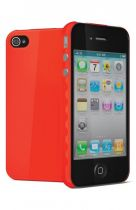 Cygnett Coque rigide AeroGrip Rouge iPhone 4/4S