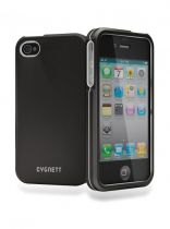 Cygnett Metalicus Coque Aluminium noire iPhone 4/4S