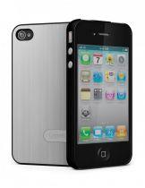 Cygnette UrbanShield coque Aluminium argent iPhone 4/4S