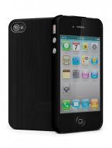 Cygnette UrbanShield coque Aluminium noire iPhone 4/4S