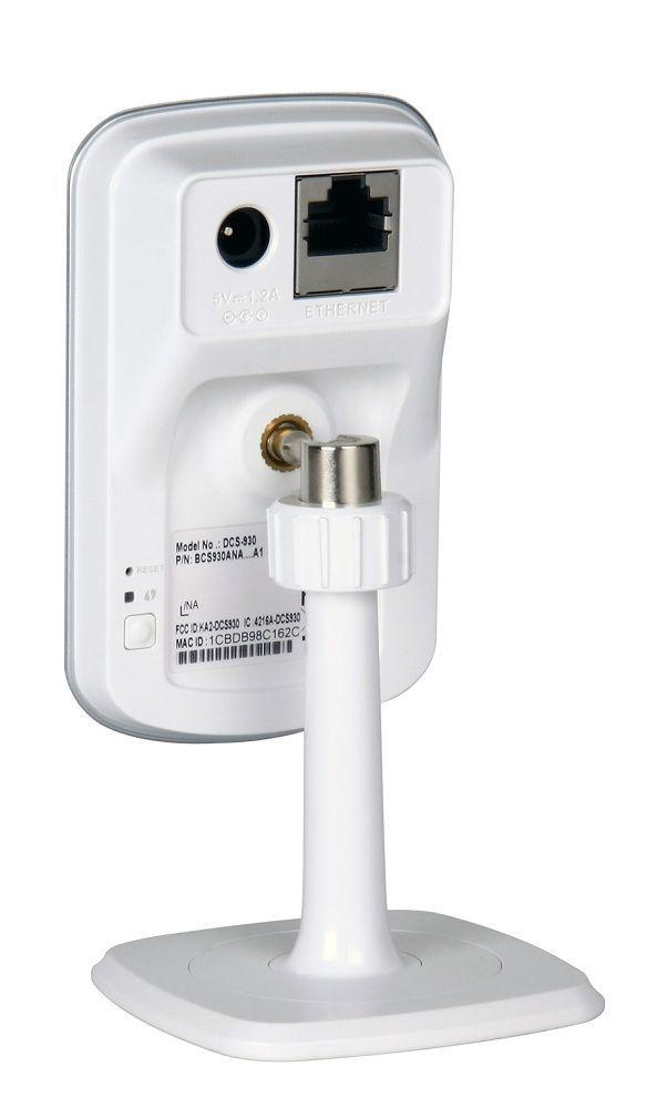 D-Link DCS-932L - Caméra réseau domestique Wireless N avec vision nocture