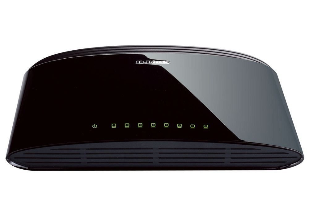 D-Link DES-1008D Switch 8 ports 10/100Mbps
