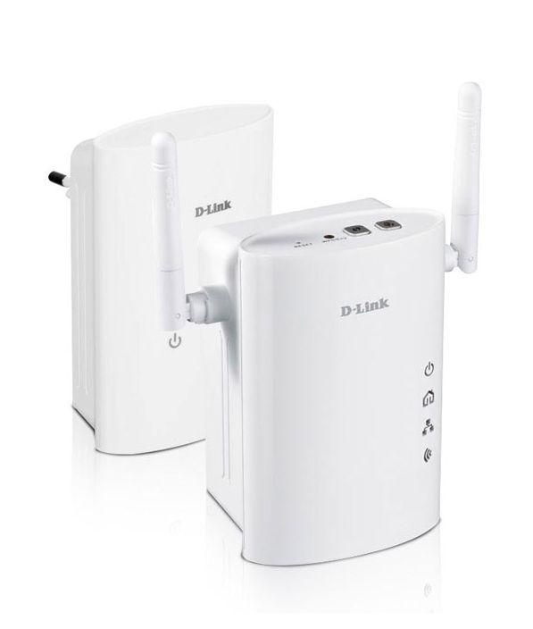 D-Link DHP-W307AV Kit 2 Adaptateurs CPL 200 Mbps Wifi N300