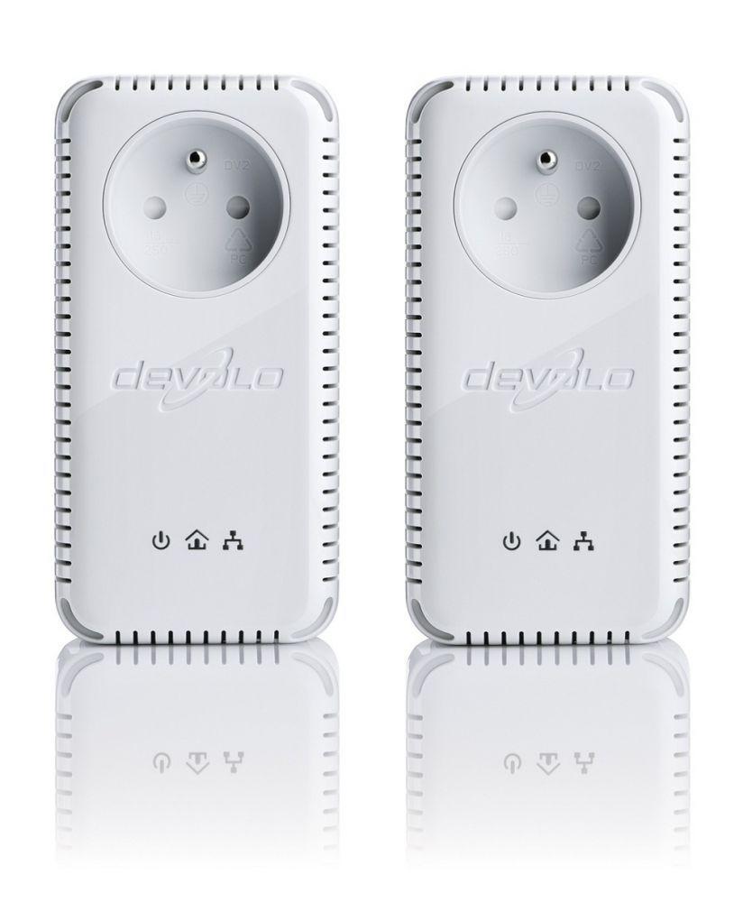 Devolo Kit 2 adaptateurs CPL dLAN 200 Avplus Starter Kit