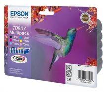 EPSON Multipack 6 cartouches Serie Colibri - T0807