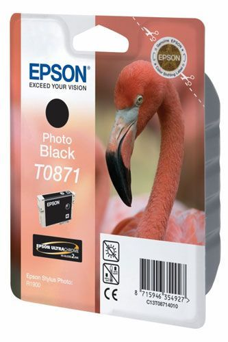 EPSON Serie Flamand Rose - T0871 Noir