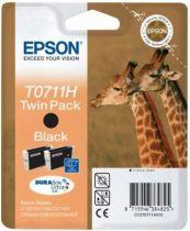 EPSON Serie Girafe Double Pack Noir - T0711H