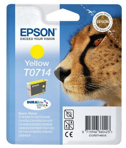 EPSON Serie Guépard - T0714 Jaune